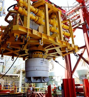 填补空白!我国首套水下应急封井器在南海深水海域海试成功